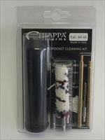 Chiappa cleaning kit with all tools to clean your 44 or 45 cal. handgun. Super price for a complete handgun cleaning kit to take care of your firearm. NO CC FEES