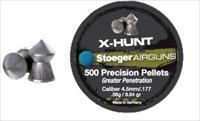 Stoeger X-Hunt Greater Penetration Pointed Pellet- .177 Cal (500 ct)