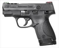 "Smith & Wesson M&P Shield Ported 9mm 3.1"" Performance Center NIB 10108"