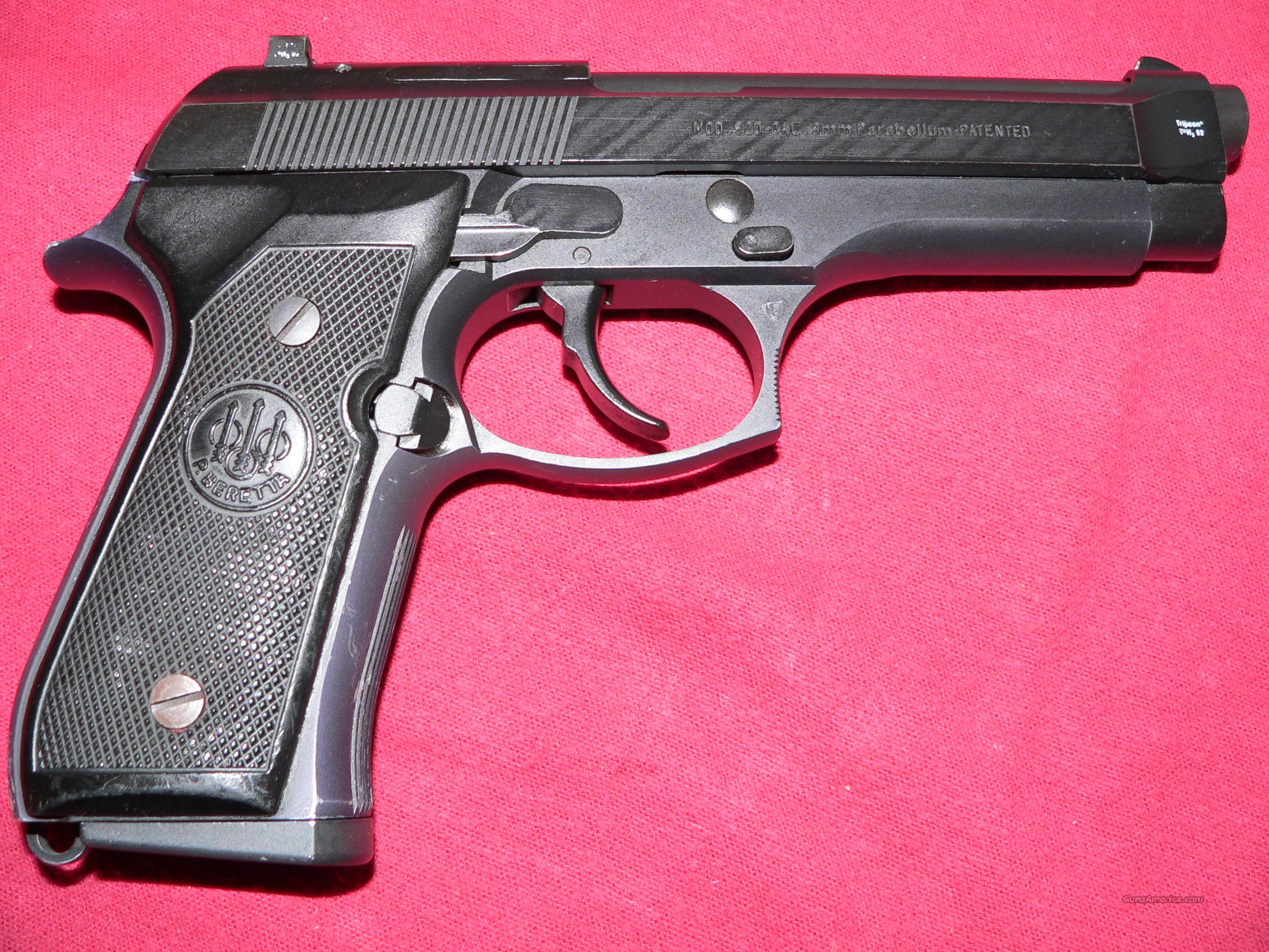 REDUCED Beretta Model 92D Double-Action Only (no safety) 9mm Semi-automatic  Pistol