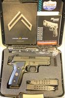 "Sig Sauer P229 Legion 9mm 3.9"" Gray DA/SA (3) 15rd Mags Like-New!"