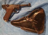 Luger P08 Dated 1942 With Original Holster