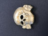 SS Totenkopf Cap Pin Original RMZ & Maker Marked
