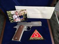 Presidential Presentation Gun for Ronald W Reagan Detonics Servicemaster Never shot!