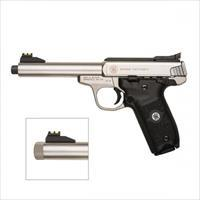 Smith & Wesson Victory .22LR Handgun w Threaded Barrel