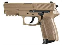 Sig Sauer SP2022 9mm in FDE with Night sights