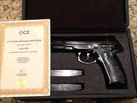 CZ75 9MM 40th Anniversary Limited Edition NIB