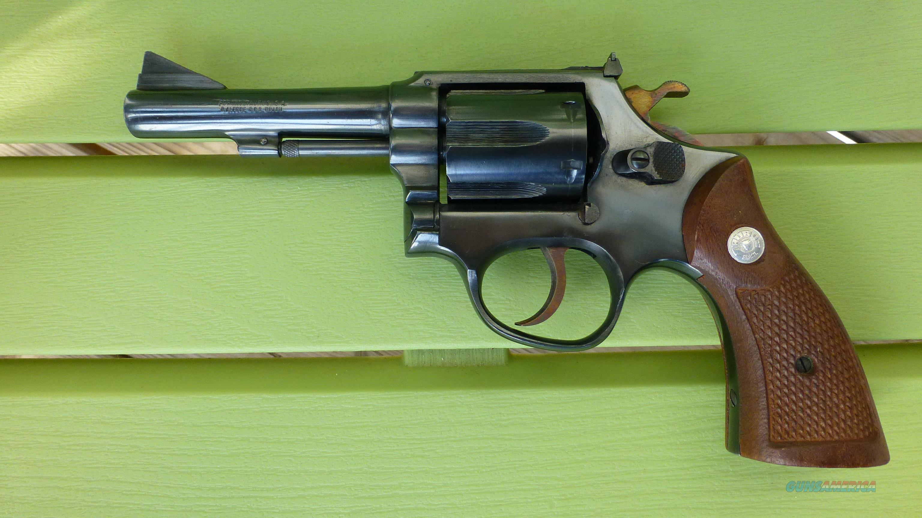 Taurus Model 83 - 38 Special - Revolver 4 in  Barrel - Blued