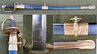 GALT COLLINS CIVIL WAR Field & Staff OFFICERS SWORD - 1862 - MINT
