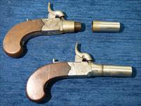 Pair of  Henry Nock Drop Trigger Antique Percussion Pistols