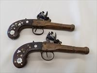 Pair of Antique Bohemian Pocket Pistols