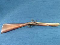 English Brass Barreled Flintlock Blunderbuss