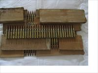 180 rds WWII Japanese 7.7 x 58 machine Gun Ammo in Boxes