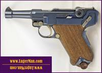 Luger 45 Custom Baby 1907 - Commander size like DWM . Functions similar to 1906 P08 Model but in 45ACP