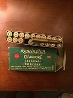 Antique Ammunition: Remington Kleanbore 303 Savage Express