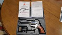 RUGER BLACKHAWK 357 MAG STAINLESS 4IN BARREL, BRAND NEW IN BOX, NO RESERVE, DEALER COST
