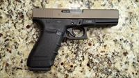 GLOCK 21 G3 NS FDE CERAKOTE SLIDE, PIC RAIL AND THUMB REST .45 ACP