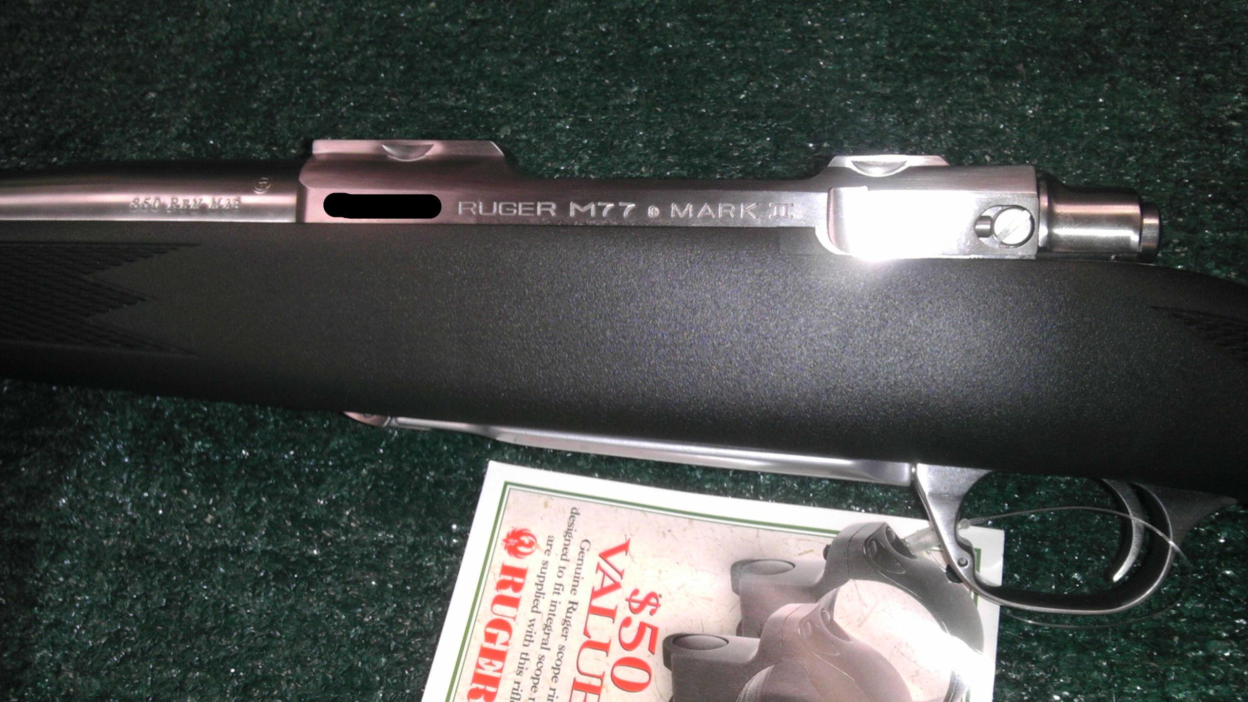 ruger m77 mark 2 owners manual