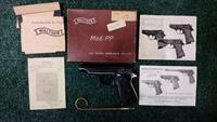 Walther PP .32 Auto German Mfg. Pistol