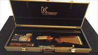 "Krieghoff K-80 High Rib Pro-Skeet 30"" Briley 4 Gauge Tube Set as New w/Custom Trigger Americase Bavaria Style Wood"