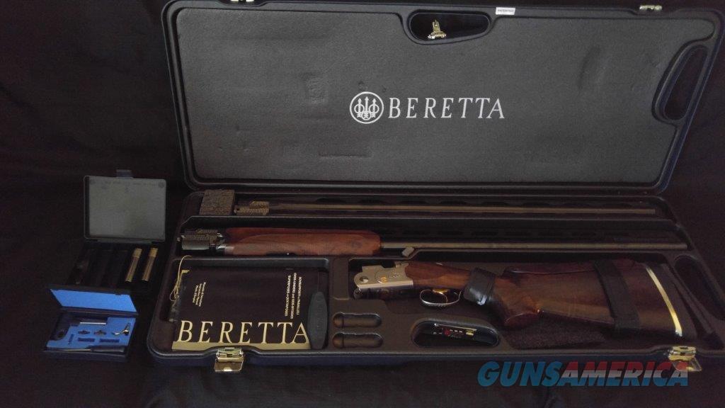 Beretta 682 Gold E Trap Combo 32 O U 34 Unsingle As NEW W