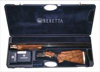 Beretta DT-10 Top Single 12 Gauge Trap Special Wood w/Chokes w/Case