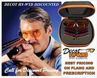 Shooting Glasses Discounted Decot Hywyd Prescription & Plano All Models & Sizes Starting $160 less our discount to you