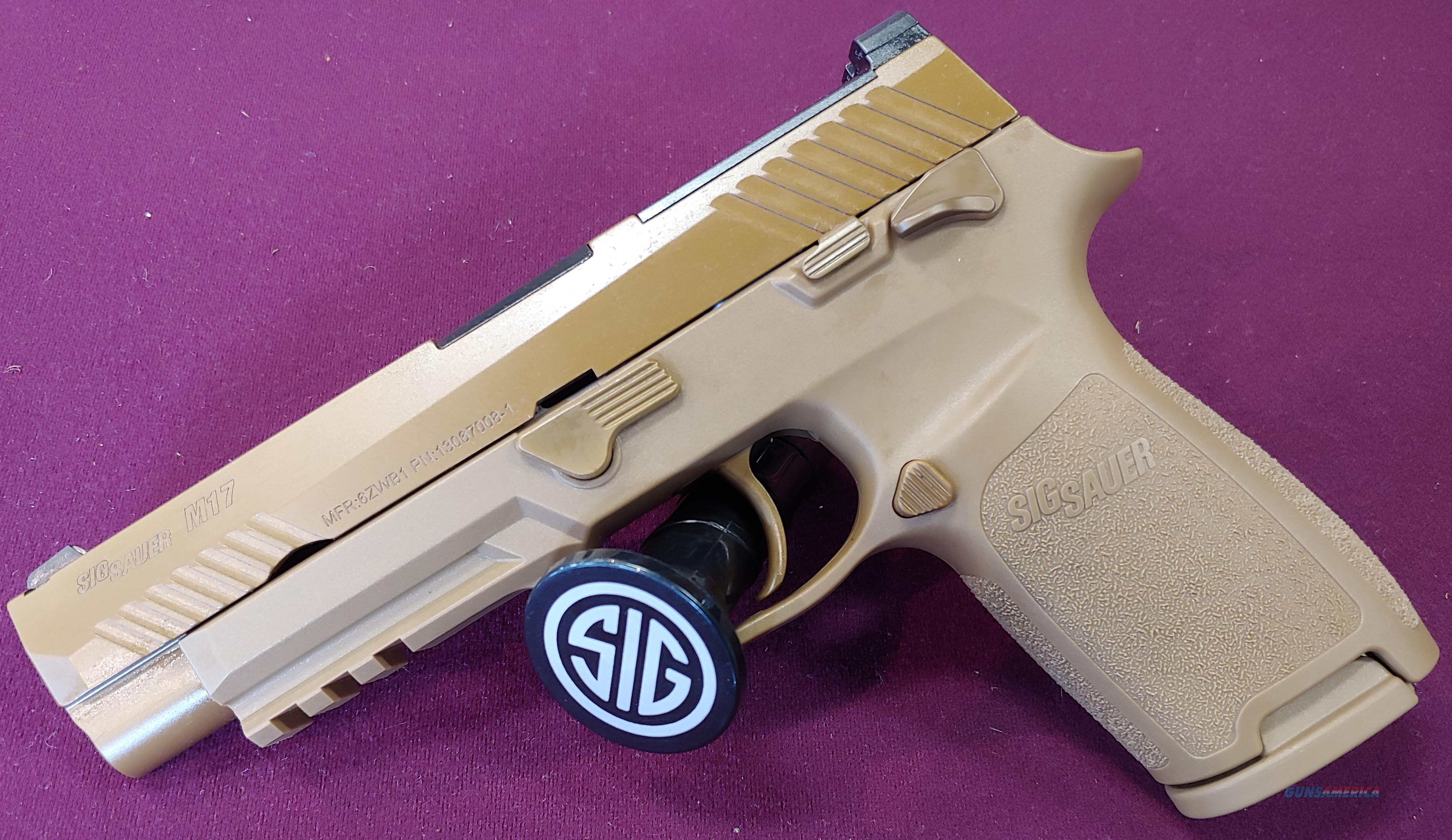 Sig Sauer P320 M17 COMMEMORATIVE 9mm