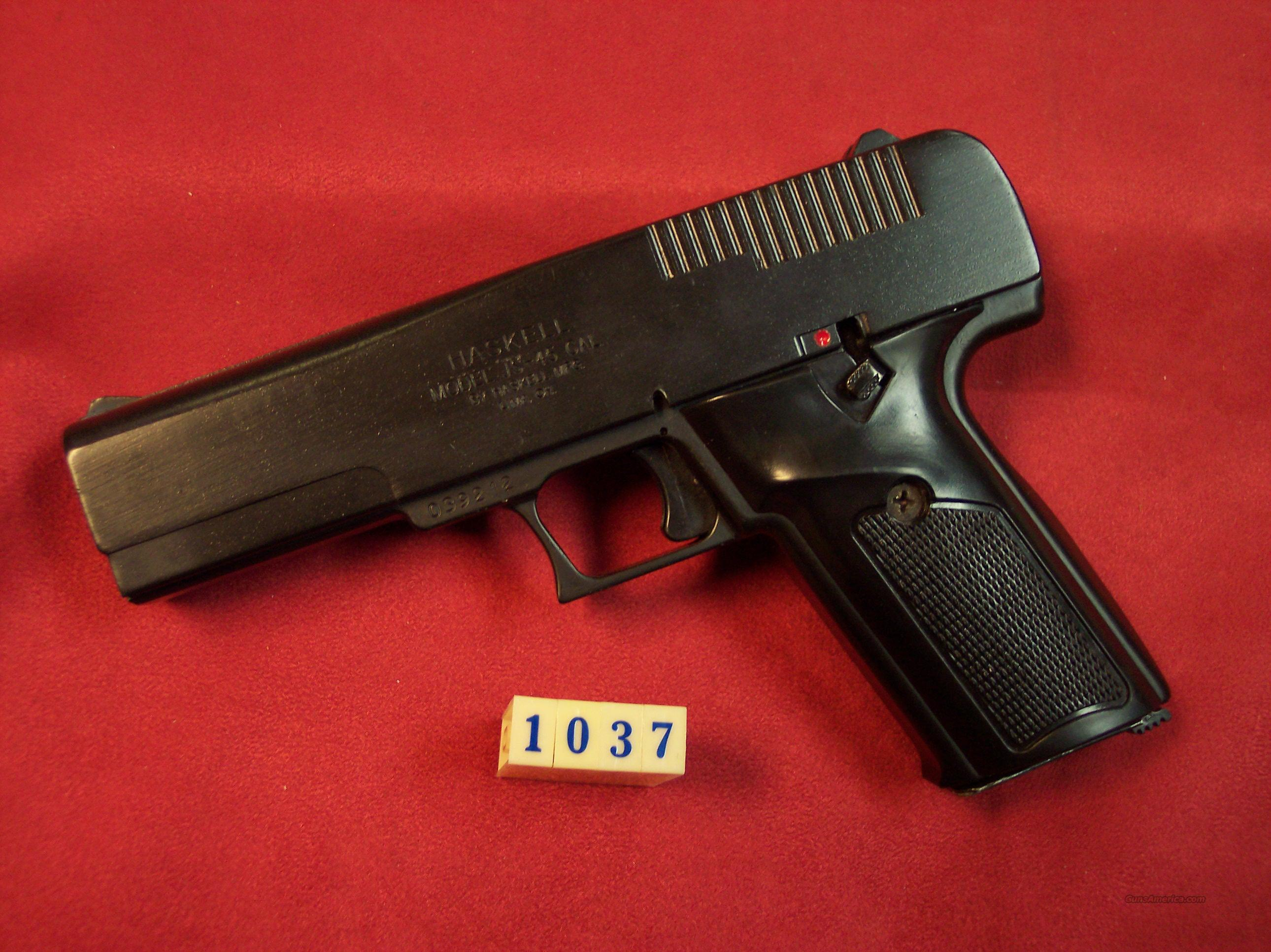 Hi Point / Haskell m-JS-45 45 ACP pistol