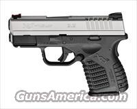 Springfield Armory XDs  9mm Bi-Tone *MUST CALL*