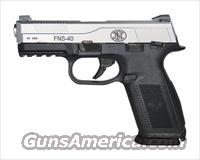 FNH FNS-40 .40 S&W *MUST CALL*