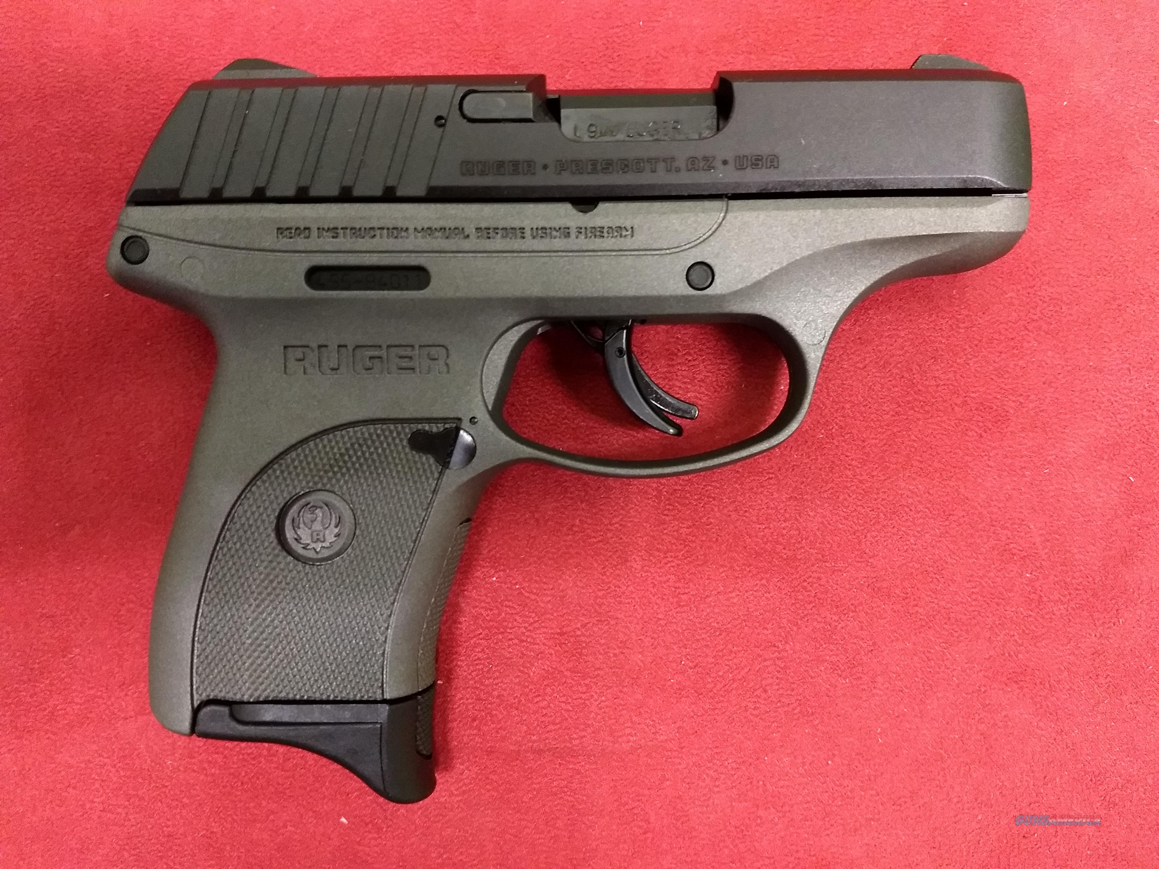 Ruger EC9S, 9mm, Tungsten Cerakote Frame, NIB