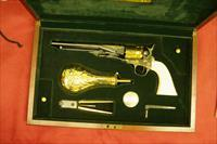 CASED BUFFALO BILL CENTENNIAL PRESENTATION COMMEMORATIVE COLT MODEL 1860 ARMY REVOLVER BY THE U.S. HISTORICAL SOCIETY, CIRCA