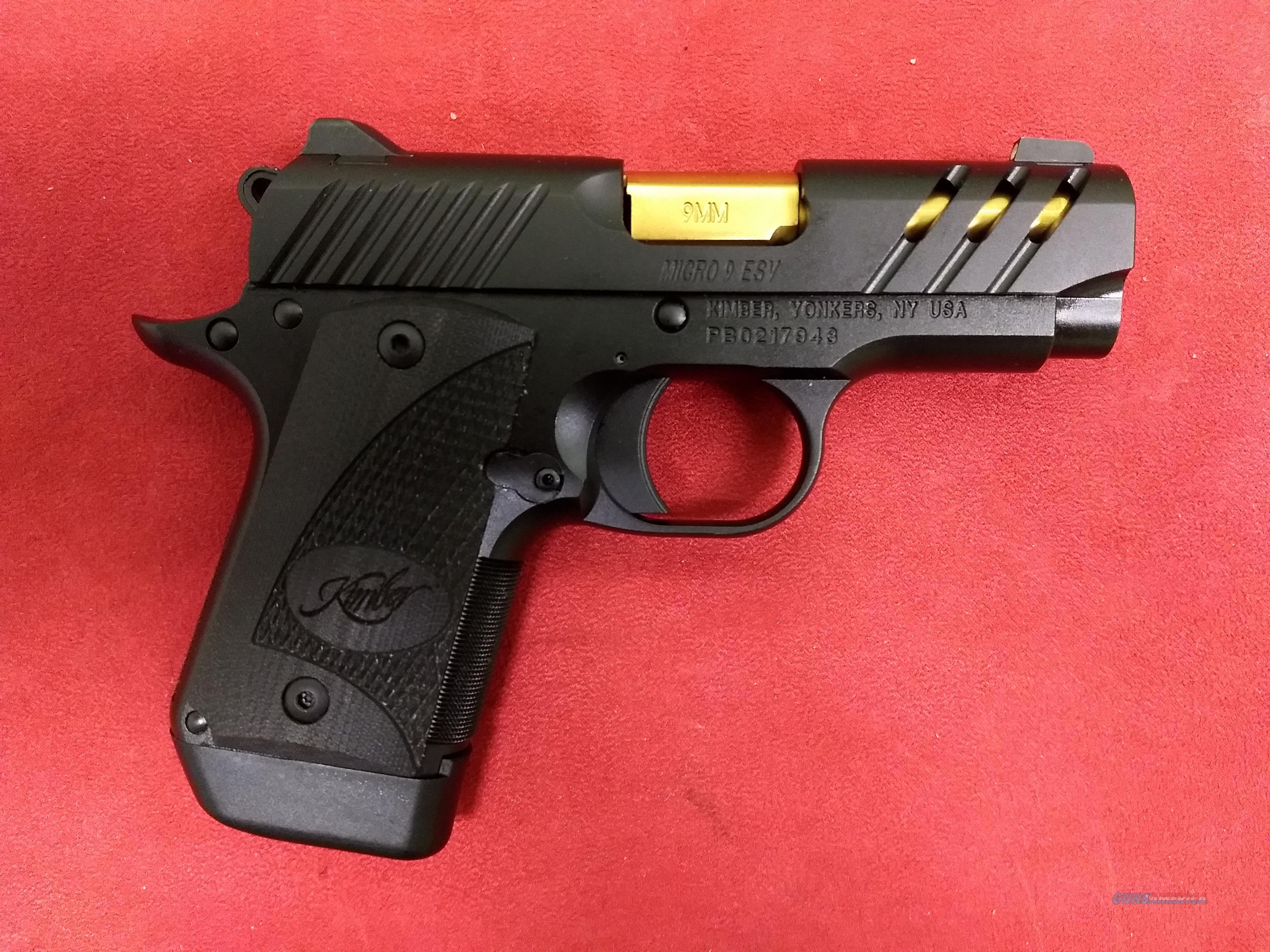 Kimber Micro 9 ESV, 9mm, NIB
