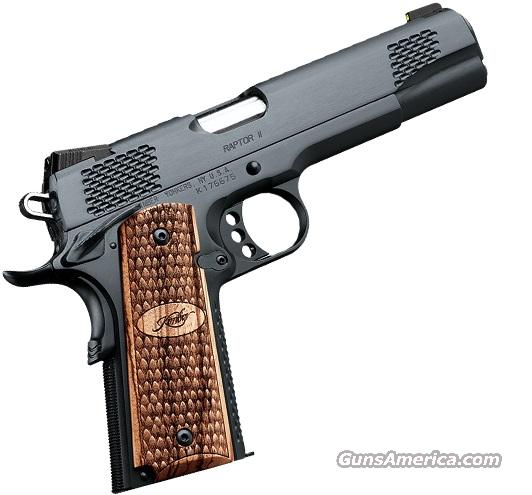 Kimber Raptor II  45 ACP *MUST CALL*