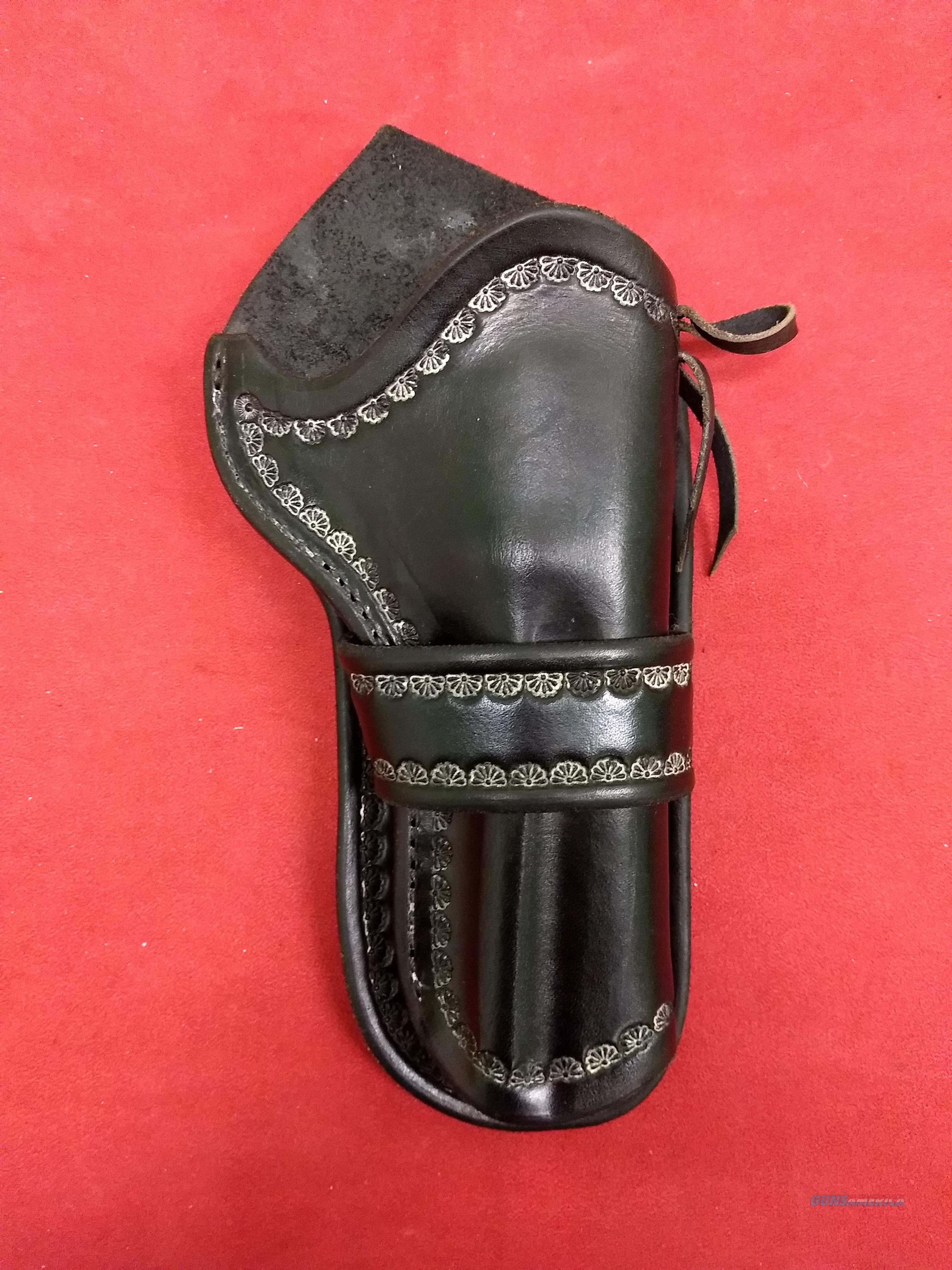Mernickle Crossdraw Holster, Right Handed, Black Leather