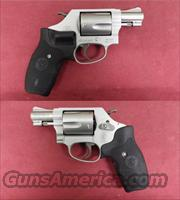 Smith & Wesson Mdl 637-2 .38 Spl +P W/CT Grips *MUST CALL*