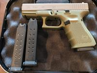 "GLOCK 19 Gen4 9MM Cerakote Bazooka Green ""Special Edition"" 15RD 3 MAGS - NO FEES"