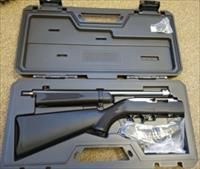 "Ruger 10/22 Takedown Marine Rifle, 18.5"" .22 LR, Black Synthetic, 25 Rd, Hard Case"