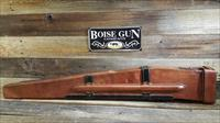 Leather Rifle Case for Browning 30 Cal Machine Gun