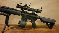 Tactical Package Red Dot 5x Magnifier Green Laser and Bi Pod Foregrip like eotech aimpoint vortex scope optic