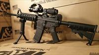 Smith & Wesson Sport 2 AR15 Rifle Red Dot, 3X Magnifier, Quad Rail, Bi Pod Fore Grip, AR 15 5.56 Nato Semi Auto Tactical Package