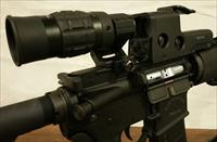 1.5 to 5x MAGNIFIER and Flip to Side Mount for Eotech, Aimpoint, Vortex, or Red Dot sight optic scope on AR 15 AR 10 Rifle