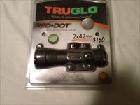Truglo red dot 2x42 multi reticle