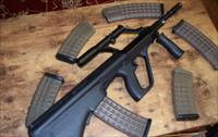 STEYR AUG A1 PRE-BAN IN BLACK W/ 6 EXTRA MAGS