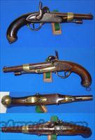 French Model 1822/42 Percussion Pistol