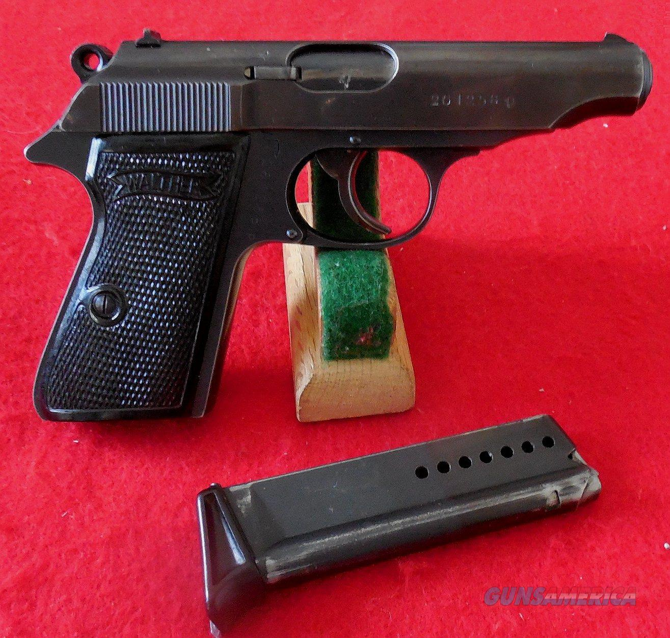Walther PP Wartime Commercial Semi-Auto Pistol,