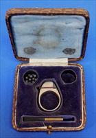 "Petit ""Defender"" Ring Pistol with Case"