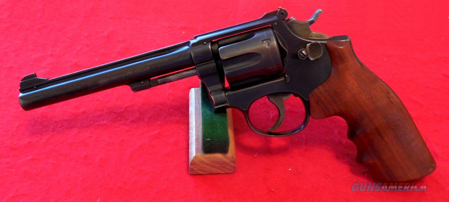 Smith & Wesson Model 17 K-22 Masterpiece Revolver
