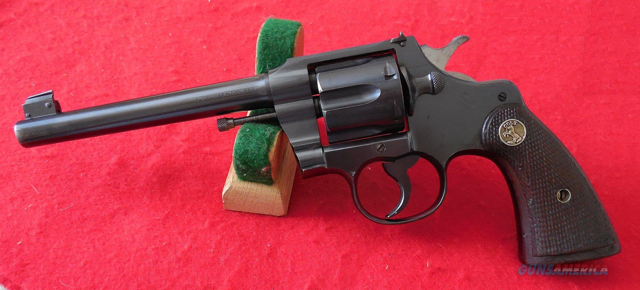 Colt Officers Model Target Revolver